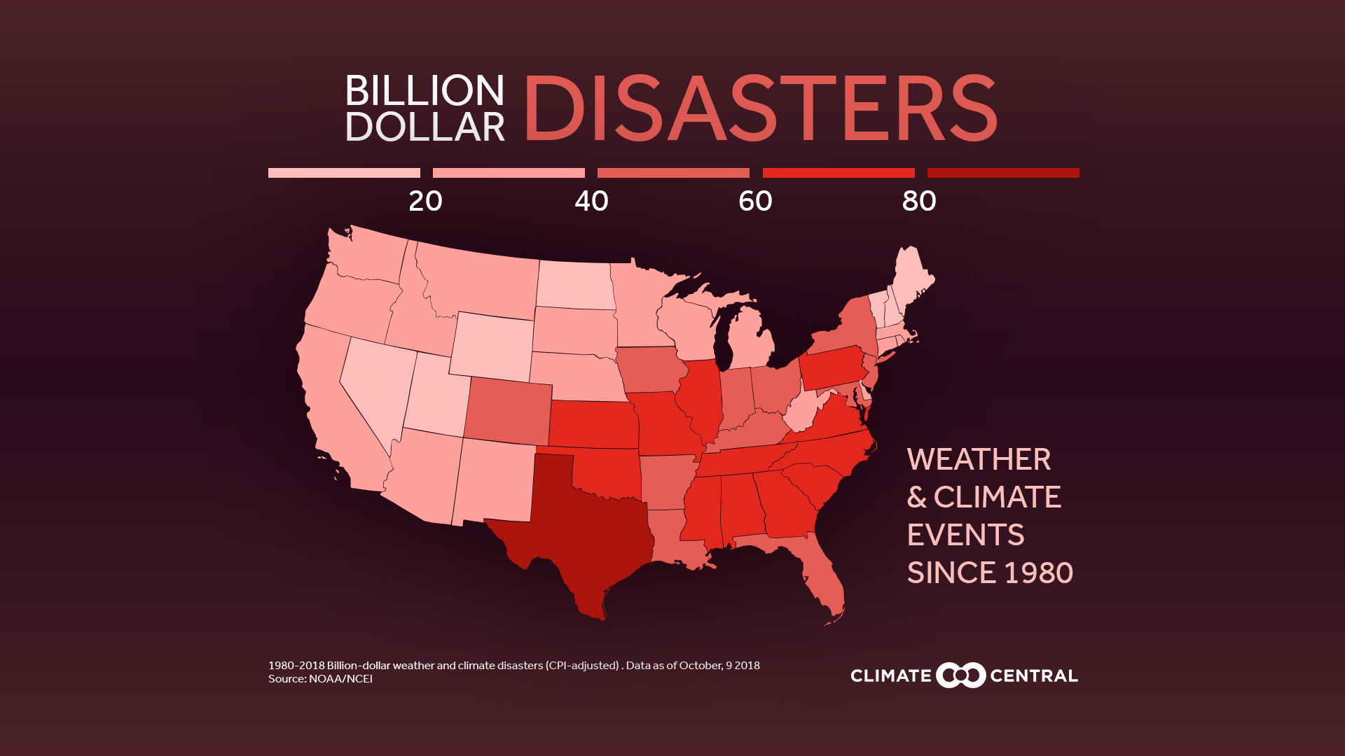 Billion-Dollar Disasters Trending Up | Climate Central